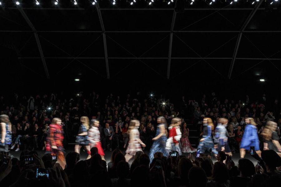 Luca Rotondo fotografo behind Milano Fashion Week