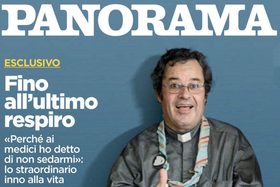 Luca Rotondo tearsheets per panorama assignment reportage padre modesto fino all
