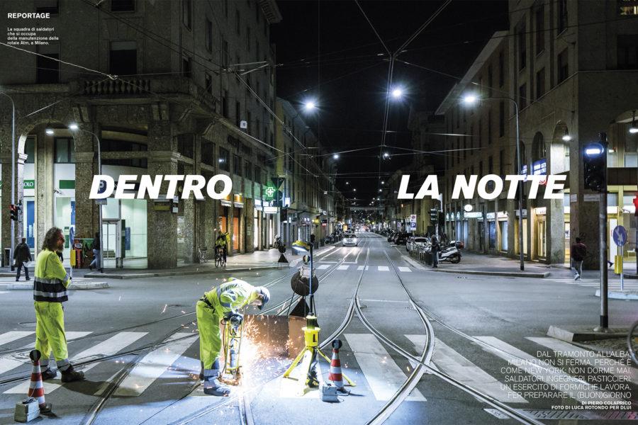 Luca Rotondo fotografo tearsheets D lui repubblica dentro la notte assignement reportage