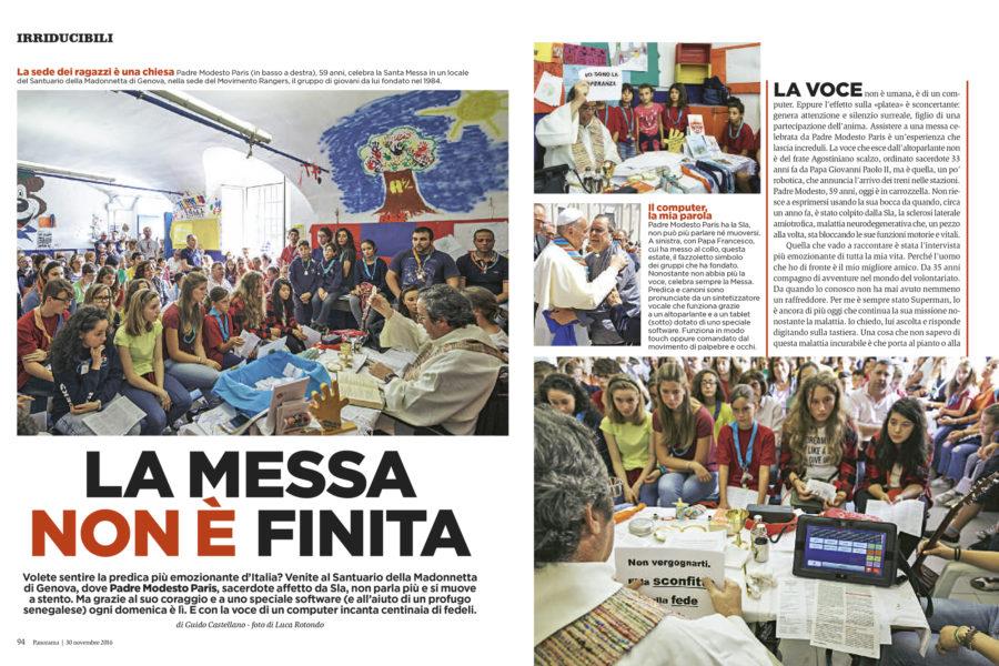 Luca Rotondo tearsheets fotografo Panorama Modesto paris sla assignement reportage