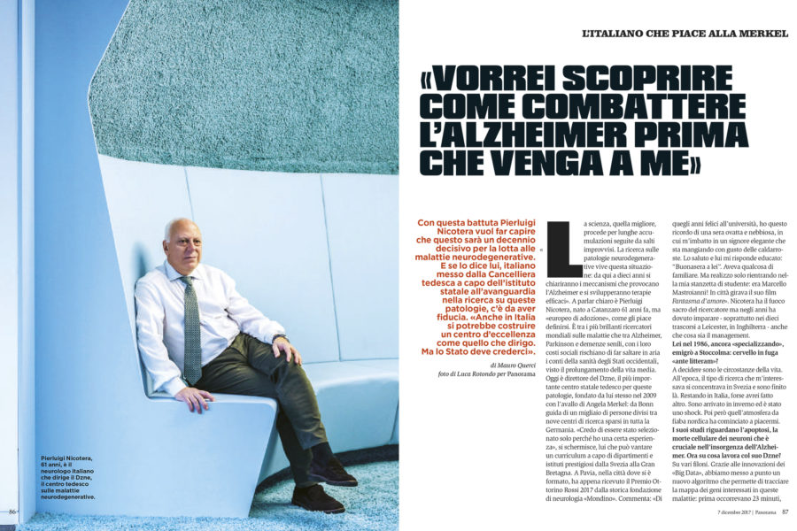 Luca Rotondo fotografo tearsheets Panorama Piarluigi Nicotera dzne colonia bonn assignement reportage
