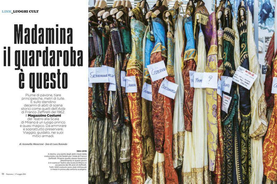 Luca Rotondo fotografo tearsheets Panorama scala laboratori sartoria assignement reportage