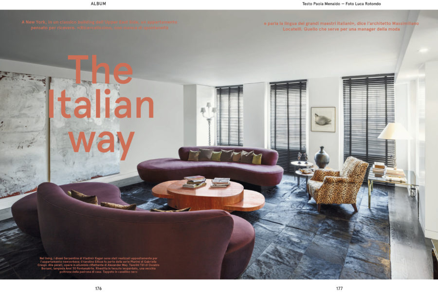 Luca Rotondo_fotografo_living magazina_corriere della sera_locatelli partners_new york_interior_architecture_Photographer_italy_reportage_reporter_assignement