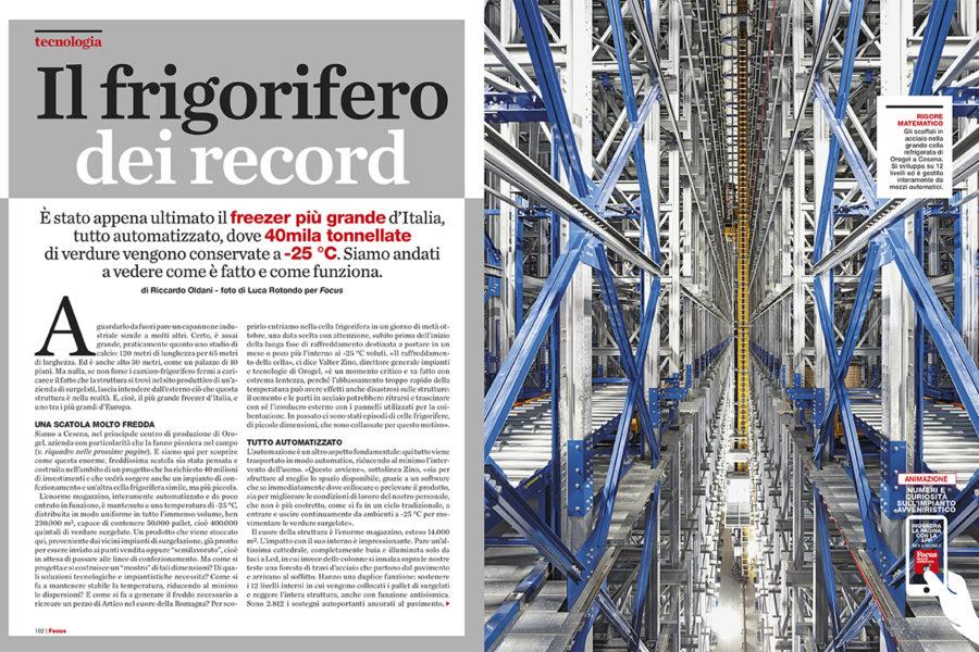 Luca Rotondo_fotografo_focus_mondadori_orogel_freezer_industrial_Photographer_italy_reportage_reporter_assignement