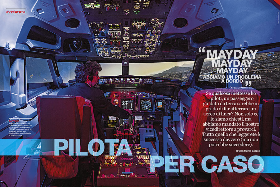 Luca Rotondo_fotografo_focus_mondadori_flight simulator_simulatore di volo_boeing_industrial_Photographer_italy_reportage_reporter_assignement
